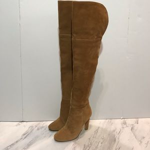Joie Over the Knee Heeled Boots